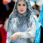 Triangle Hijab Designs 2015