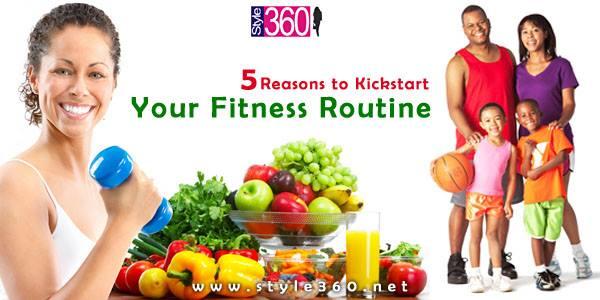 Reasons To Kickstart Your Fitness Routine