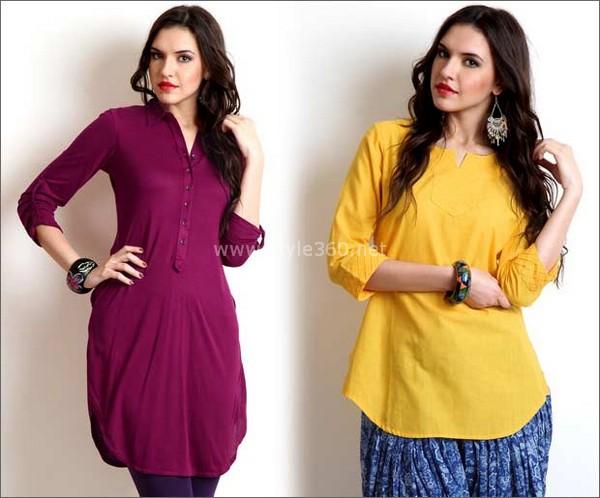 trendy designer wear kurtis collection fashion tubes