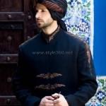 Pakistani Designer Sherwani Style