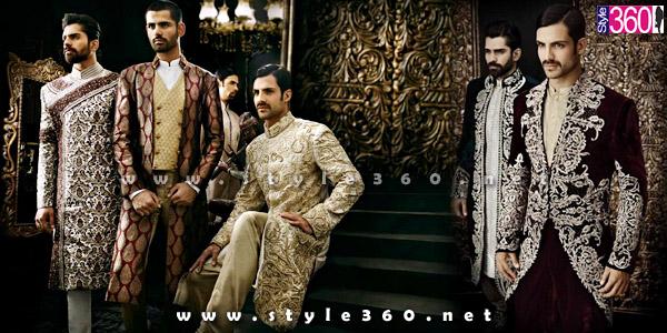 Pakistani Designer Sherwani Styles