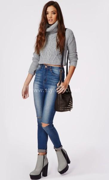 Skinny jeans trending fashion fashion tubes Fashion style girl jeans 2015