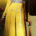 Latest Bridal Mehndi Dresses For Girls