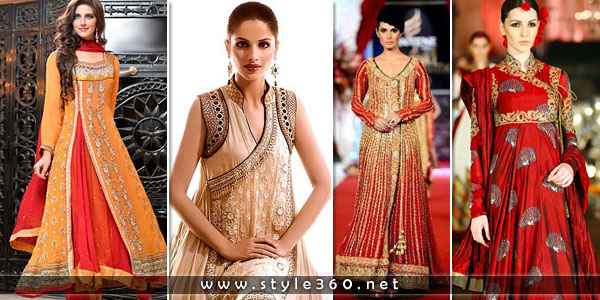 Trendy Angrakha Style Frocks Collection