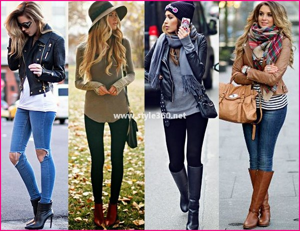 Leather Boots Fashion