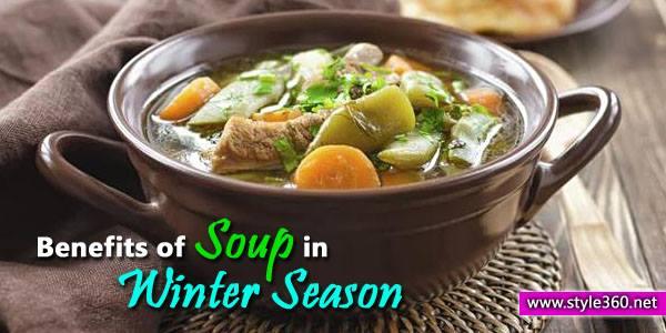 Benefits of Soup in Winter Season