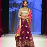 Deepak Perwani Bridal Frocks/Lehenga Designs 2016