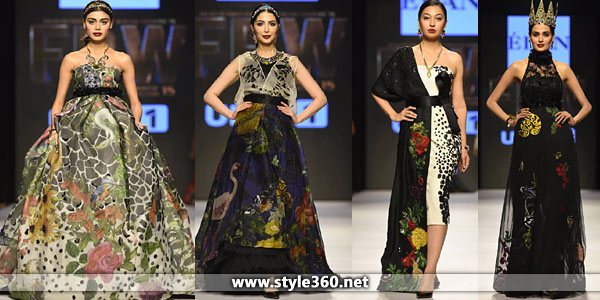 Elan Party Wear Dresses 2015-16 at Fashion Pakistan Week