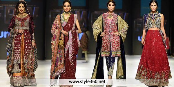 Zainab Chottani Handmade Bridal Dresses 2016