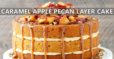 Caramel Apple Butter Pecan Cake