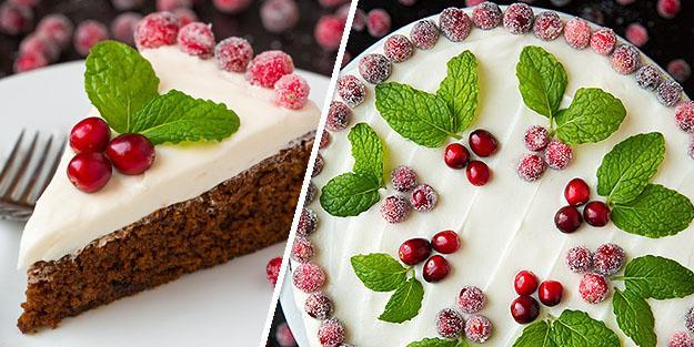 Gingerbread Cream Cake Recipe