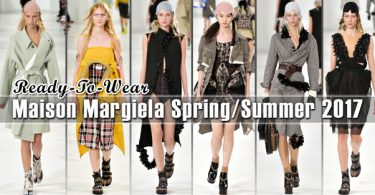 Maison Margiela Spring 2017 Ready-to-Wear Collection