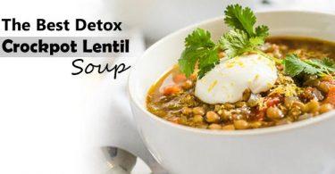 Crockpot Lentil Vegetable Soup