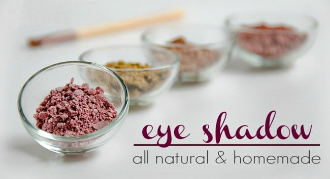 4 Homemade Eyeshadow Recipes