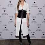 Gigi Hadid attends Stuart Weitzman's Launch of the Gigi Boot
