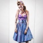 Josephine Skriver Freaking us out as this Retro Zombie