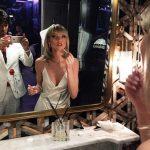 Martha Hunt 70s Glam Look Scarface