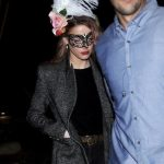 Amber Heard at Halloween Party