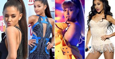 American singer and actress Ariana Grande