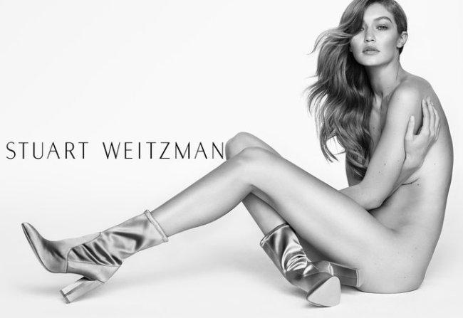 Gigi Hadid Stuart Weitzman Spring 2017 Campaign