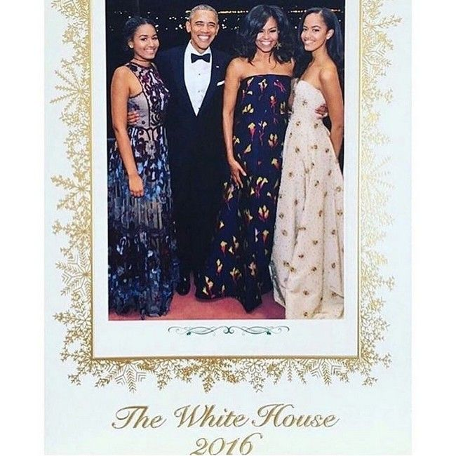 Obama's Family The White House 2016 Snapshots