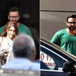 Saif Ali Khan with sister Soha and father-in-law Randhir Kapoor