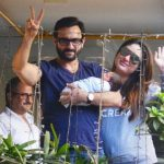 Saif and Kareena Kapoor Baby Photo
