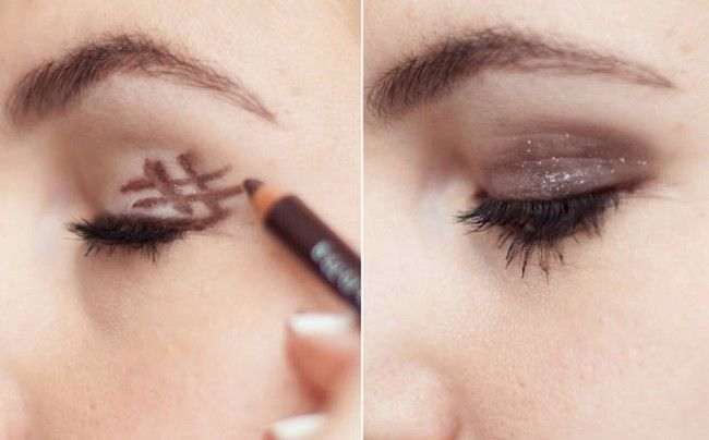 Makeup Smoking Eyes