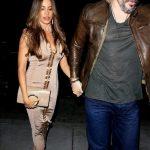 Sofia Vergara Dines Out At Catch With Joe Manganiello