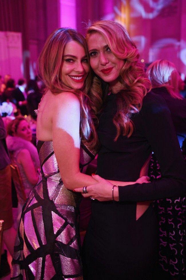 Sofia Vergara and Ofira Sandberg Inside the Angel Ball in NYC