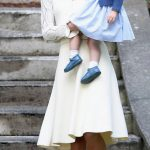afternoon outing with Prince George and Princess Charlotte