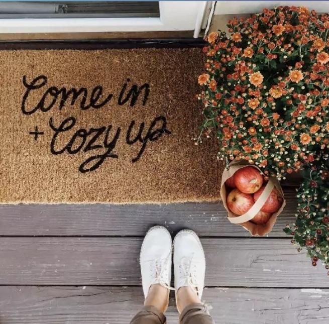 how cozy your home is