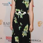 CLAIRE FOY Hottest Looks from 2017 BAFTA Tea Party
