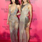 Gigi-Bella Hadid Sister Pictures VS Fashion Show