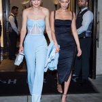 Gigi Hadid Monochrome Outfits
