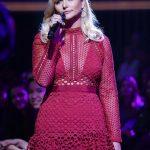 Miranda Lambert In Red Dress
