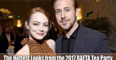 The Hottest Looks from the 2017 BAFTA Tea Party