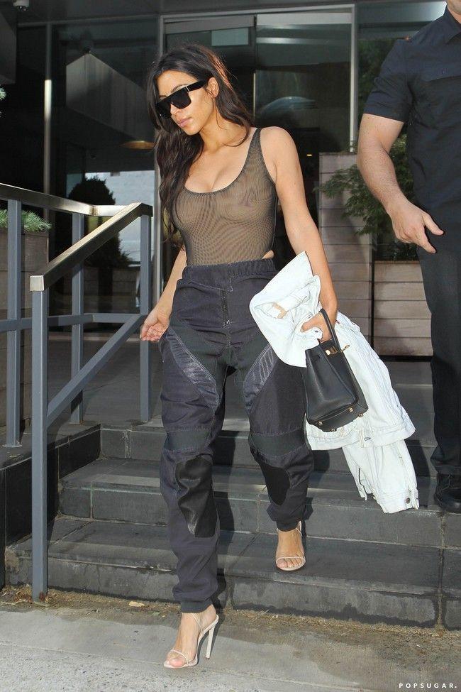 Kim Kardashian Nipple Outfits Photos Fashion Tubes