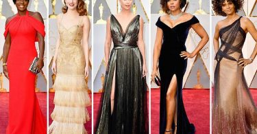 Celebrity Looks 2017 Academy Awards Red Carpet