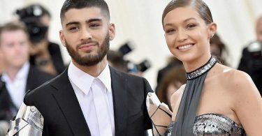 Zayn Malik and Gigi Hadid iHeartRadio Music Awards