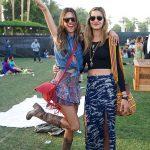 Alessandra Ambrosio & Ana Beatriz Coachella Style