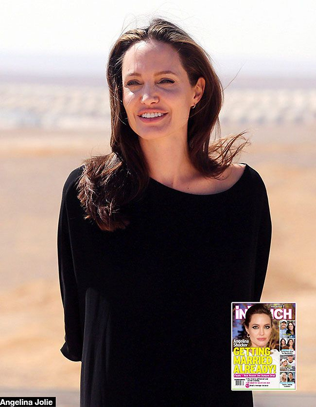 Angelina Jolie Married Brad Pitt Split Moved on New Man Relationship