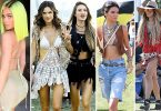 Celebrities Coachella Styles
