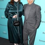 Glenda Bailey & Ralph Lauren At Harper Bazaar 150th Anniversary Celebration