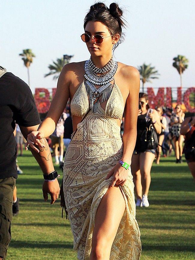 Kendall Jenner Coachella Style
