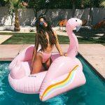 Shay Mitchell Topless Coachella Style