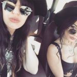 Vanessa Hudgens and friends Coachella Style