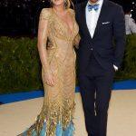 BLAKE LIVELY AND RYAN REYNOLDS 2017 Met Gala Red Carpet