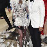 CHRISSY TEIGEN AND JOHN LEGEND 2017 Met Gala Red Carpet