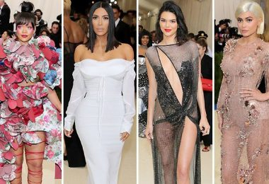 Celebrities Met Gala Red Carpet 2017